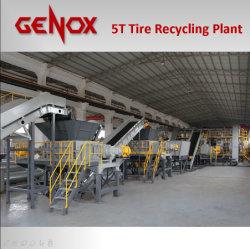Système de machine de recyclage de pneus//plastique Shredder/déchiqueteuse