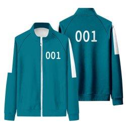 2021 زوجان لعبة حبار نفس لعبة جاك ذلة الكورية الخريف التلفزيون سويتر ماسك الملابس كوزيب هالوين 456 كوستوم