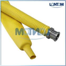 Tubo termorestringente in poliolefina per la protezione e la marcatura del gas flessibile Tubo flessibile