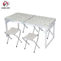 Barbecue de pliage en alliage aluminium Table avec motifs imprimés