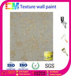 Vernice decorativa decorativa della parete della pittura di parete della vernice metallica di tessitura