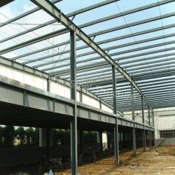 Grosses Rabatt-Stahlrahmen-Metallgebäude im Sambia