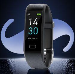 Bluetoothのイヤホーンの心拍数のモニタのスマートなリスト・ストラップの長い時間のスタンバイのスポーツの腕時計の人が付いているM1最も新しいAiのスマートな腕時計