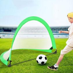 Portable Soccer Net, Instant Soccer Meta, dobrável e porta de futebol com saco de transporte para as crianças a jogarem o jogo de futebol Jardim Piscina Piscina13206 ESG