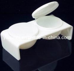 Два отверстия лак для ногтей - акриловые жидкости Dappen блюдо