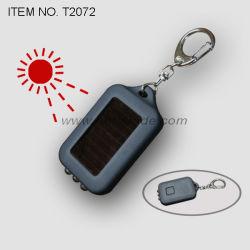 Светодиодный фонарик солнечной энергии с цепочки ключей (T2072)