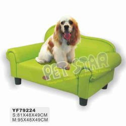 호화스러운 Pet Sofa, Green 및 Pink Color Available