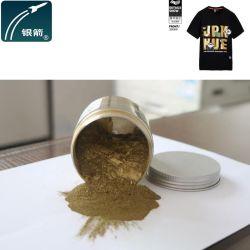 Funkelndes Gold färbt Bronzepuder für Textildruckerschwärze