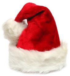 De Hoed van de Kerstman van de Decoratie van Kerstmis van de pluche