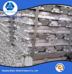 A7 Lingots d'aluminium/ Al lingot avec de l'usine de haute pureté