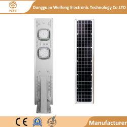 De Grote Kwaliteit van China van Prijs van de Sensor van de Motie van 20 Watts IP65 de Waterdichte allen in leiden van Één ZonneStraatlantaarn