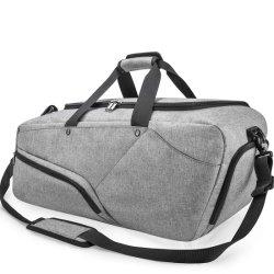 45L Salle de Gym Sports de sac sac de sport avec des chaussures imperméables du compartiment de grands sacs polochons voyage Weekender Sac de voyage pour les Hommes Femmes