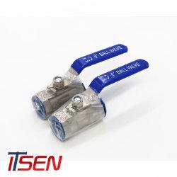 La fabbricazione 1PC SS316 della Cina riduce la valvola a sfera del foro con 1000wog