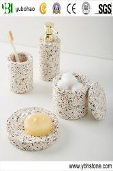 Terrazo Accesorios/artesanía hecha a mano para el conjunto de baño