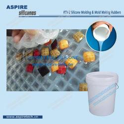 Outre/Platinum Cure liquide transparent en caoutchouc de silicone RTV-2
