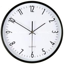 La dirección de los hogares de cuarzo redondo Reloj de pared