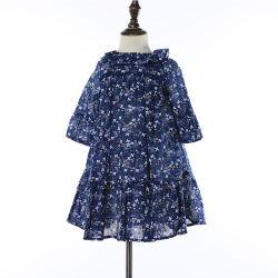 Peu de jeunes filles Printemps et été Fashion Commerce de gros de vêtements en coton Robe de filles occasionnels de fleurs
