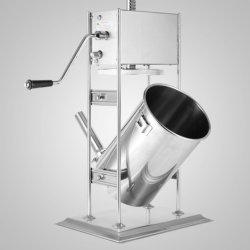 10L Electric triturador de carne y embutidos de acero inoxidable completo dispositivo de llenado