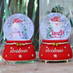 Hot Sale boule de cristal La Boîte à musique pour Noël