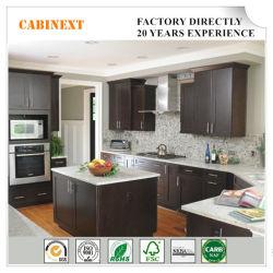 American Home Meubles de cuisine en bois massif armoires directement en usine
