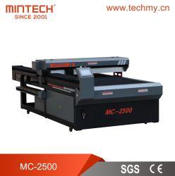 máquina de corte e gravação a laser de CO2 do CNC em acrílico para/Madeira/pano/couro/plástico (MC-2500)