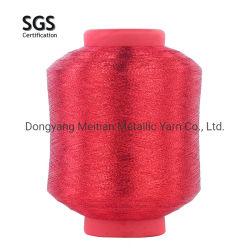 Пряжа Lurex высокая стойкость Mh типа металлических пряжа для вязания