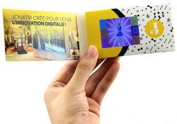 スモールデジタル LCD 画面ビデオディスプレイカード 2.4 インチビデオ プレーヤー
