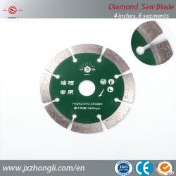 hulpmiddelen die van het Blad van de Zaag van de Diamant van 110mm de TurboSteen snijden