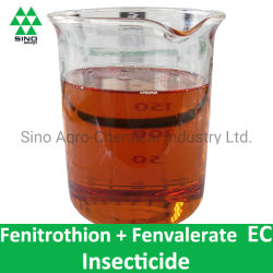 殺虫剤の殺虫剤Fenitrothion + Fenvalerate欧州共同体(250g/L+50g/L、250g/L+500g/L)