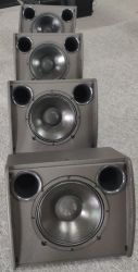 La carcasa del altavoz profesional de audio de PA Altavoz coaxial de X12