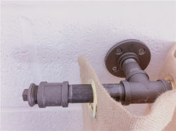 Tenda Rod industriale Palo del tubo del ferro per la casa