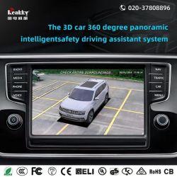 3D 새 전망 비전 최고 HD 차 오디오 원조 시스템 차 모니터를 가진 360 도 차 사진기 시스템