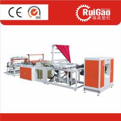 Hochgeschwindigkeitsbiodegradierbare Abfall-Abfall-Rollenbeutel-Ausschnitt-Plastikmaschinerie