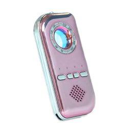容易なRFのバグのシグナルの探知器K300の移動はホテルの保護反スパイによって隠されるカメラの探知器アラーム赤外線USB充満を作動させる(K300)