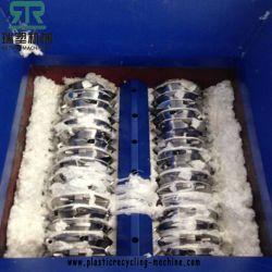 Отходов пластиковые бутылки HDPE/цилиндра экструдера/Jar/корзины Парные вала измельчителя