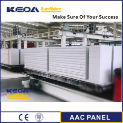 Gesteriliseerde met autoclaaf Geluchte Concrete het Maken van het Blok AAC/van de Baksteen Machine voor Bouwmateriaal