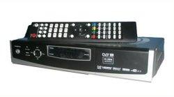 受信機(DVB-S2 HD)を共有する衛星インターネット