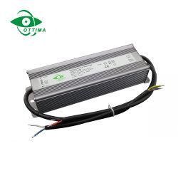 Alimentação de 12 V 24V 36V 48V DC Fonte de Alimentação LED impermeável 60W 80W 100W 150W 200W Dimerizável Dali Preço de Driver de LED