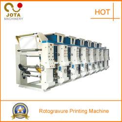 Rollo de película de plástico de rotograbado máquina de impresión