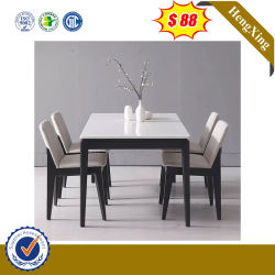 의자를 가진 현대 간단한 나무로 되는 가정 가구 테이블 고정되는 식탁