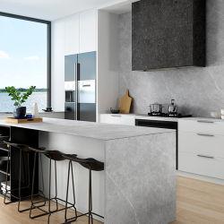 Gesinterte Schiefer-weiches Aufflackern glasig-glänzende Oberflächenfelsen-Platte für Wand-Dekoration und Innenfußboden 800*2600mm