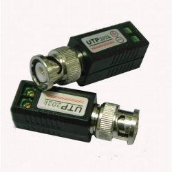 CCTV Video Balun UTP con conector BNC (UTP202K)