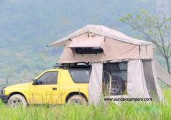 Off Road tente-roulotte sur le toit avec salle annexe