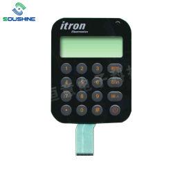 Personalizados de alta qualidade Material Pet chave plana Interruptor de Membrana