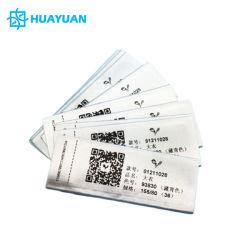Van de douane Van het de drukKledingstuk van de qr- Streepjescode etiket van de de kledings het UHFzorg RFID van de Kleding