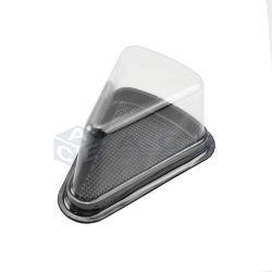 Custom треугольника в блистерной упаковке продуктов питания лоток прозрачные пластмассовые сэндвич .