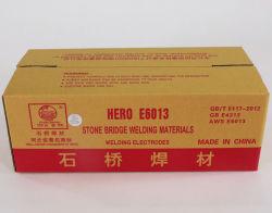 핫 세일 스톤 브리지 용접 로드 E6013 용접 전극