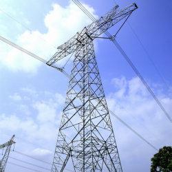 電流を通される電力伝達は角度の鋼鉄タワーを自己サポートする