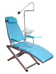 편리한 폴딩 이동할 수 있는 휴대용 치과 의자 치과 접는 의자