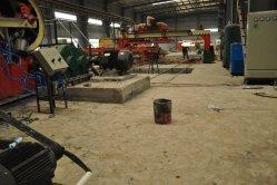 Les carreaux de plafond en plâtre de ligne de production de ciment de fibre équipement embarqué